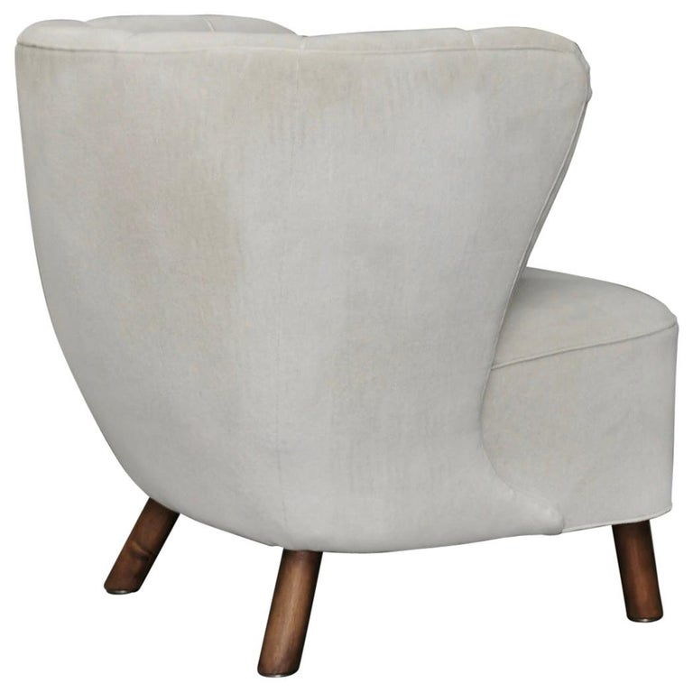 Flemming Lassen Style Easy Chair, Denmark 1940s