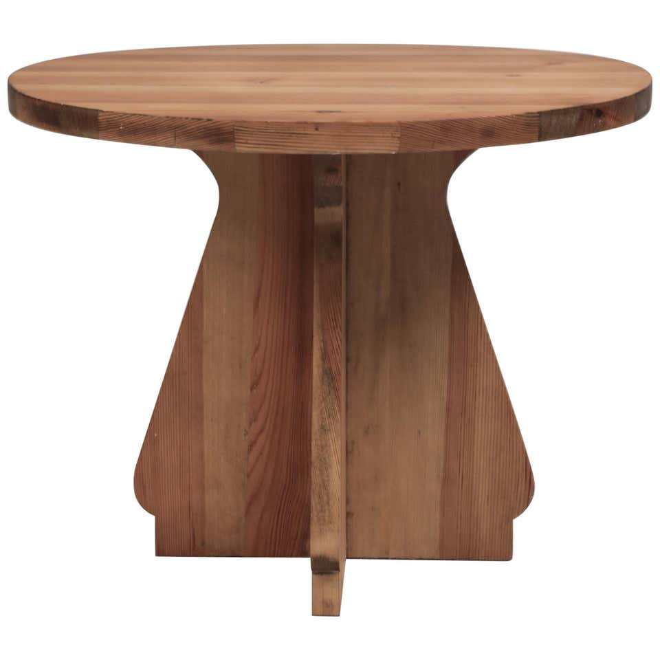 Nordiska Kompaniet, Pine Table, Attributed to Axel Einar Hjorth, Sweden 1940s.