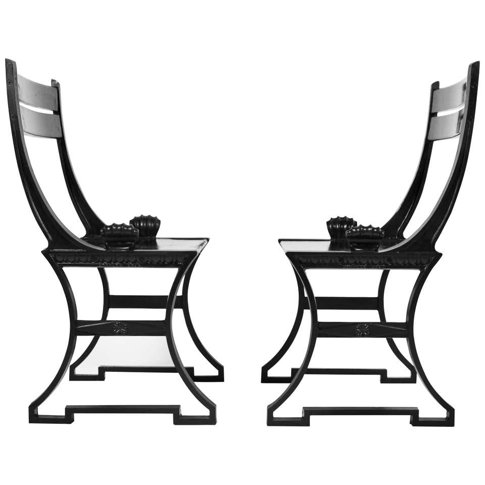 Folke Bensow, Pair of Scandinavian Modern Garden Chairs, Sweden 1980s