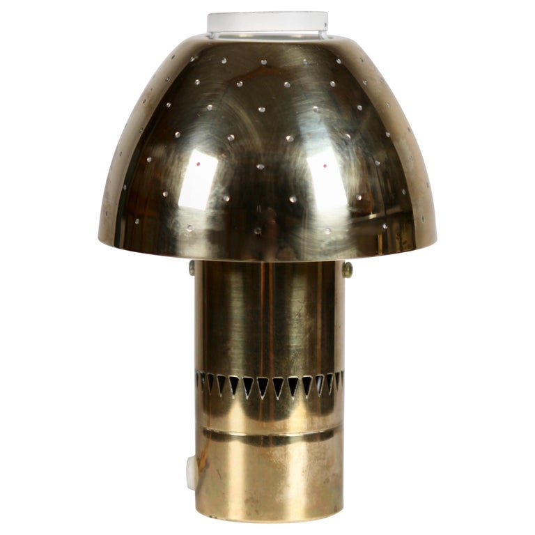 Hans-Agne Jakobsson, Table Lamp Model B-221 in Brass.