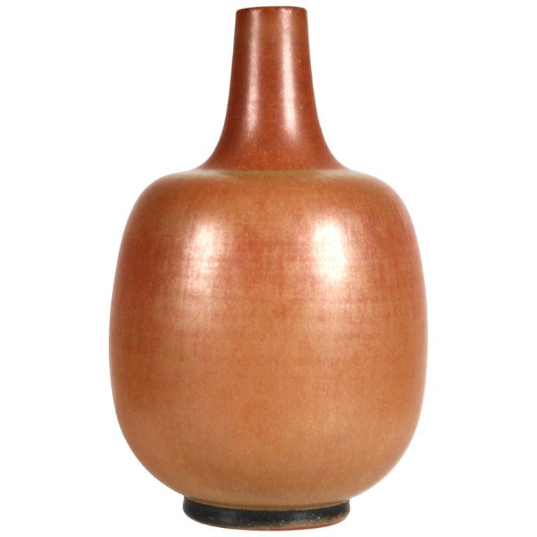"""Erich & Ingrid Triller, """"Tobo"""" Vase, Sweden 1950s."""
