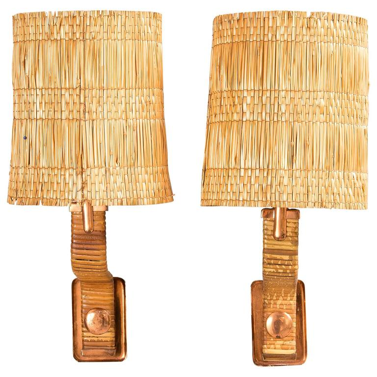 Paavo Tynell, Wall Lamps, Taito, Finland 1940s.
